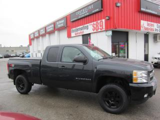 Used 2009 Chevrolet Silverado 1500 Z-71 $12,995 +HST +LIC FEE / CLEAN CARFAX / 4X4 / UP HIGH for sale in North York, ON