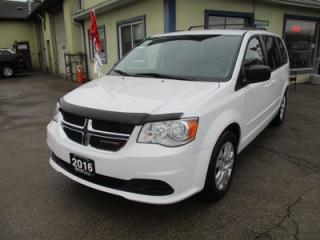 Used 2016 Dodge Grand Caravan FAMILY MOVING SXT EDITION 7 PASSENGER 3.6L - V6.. CAPTAINS.. STOW-N-GO.. ECON-BOOST PACKAGE.. CD/AUX INPUT.. KEYLESS ENTRY.. for sale in Bradford, ON