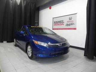 Used 2012 Honda Civic LX ECONOMIQUE !!! for sale in St-Eustache, QC
