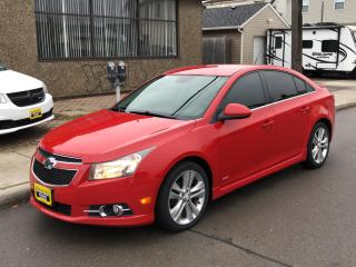 Used 2012 Chevrolet Cruze 4dr Sdn LT Turbo+ w/1SB for sale in Hamilton, ON