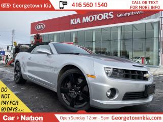 Used 2011 Chevrolet Camaro 2SS | V8 | CONVERTIBLE | LEATHER | HUD | BOSTON | for sale in Georgetown, ON