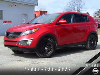 Used 2011 Kia Sportage LX AWD + BLUETOOTH + MAGS + CRUISE! for sale in Magog, QC