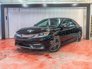 Used 2016 Honda Accord SPORT**CAM DE RECUL**TOIT**CAMÉRA ANGLE MORT 90 JOURS SANS PAIEMENTS (DETAILS EN CONCESSION) for sale in Montreal, QC