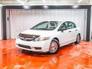 Used 2011 Honda Civic DX-G**AUTOMATIQUE**JAMAIS ACCIDENTÉ**A/C 90 JOURS SANS PAIEMENTS (DETAILS EN CONCESSION) for sale in Montreal, QC