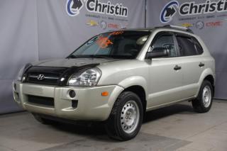 Used 2007 Hyundai Tucson AUTOMATIQUE-GRP ELECTRIQUE-A/C for sale in Montréal, QC