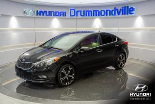 Used 2015 Kia Forte SX + GARANTIE + NAVI + TOIT + CUIR + MAG for sale in Drummondville, QC