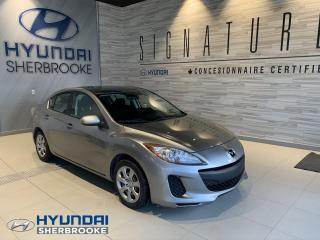 Used 2012 Mazda MAZDA3 GX + AIR CLIMATISÉ + GRP ÉLECTRIQUE for sale in Sherbrooke, QC
