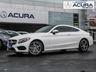 Used 2017 Mercedes-Benz C-Class C300 | 4MATIC | LEATHER | NAV | SUNROOF | SPORTPKG for sale in Burlington, ON