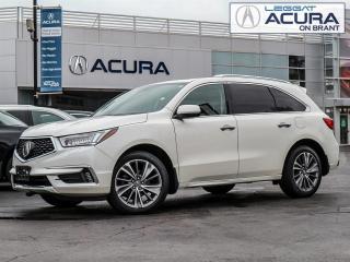Used 2017 Acura MDX Elite Package ELITE | NEWBRAKES | NEWTIRES | 6PASS | OFFLEASE for sale in Burlington, ON