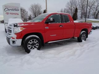 Used 2016 Toyota Tundra SR 5,7 L Double Cab 4RM 146 po for sale in St-Félicien, QC