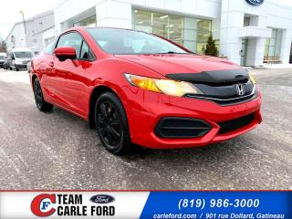 Used 2014 Honda Civic Honda Civic 2014, caméra de recul, bluet for sale in Gatineau, QC
