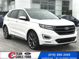 Used 2017 Ford Edge Ford Edge Sport AWD 2017, Cuir, toit pan for sale in Gatineau, QC