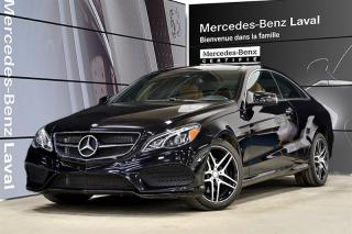Used 2016 Mercedes-Benz E-Class E400 4MATIC Coupe for sale in Laval, QC
