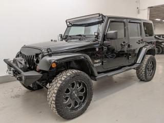 Used 2011 Jeep Wrangler Unlimited SAHARA UNLIMITED/ROUGH COUNTRY LIFT/LED BARS & MORE! for sale in Toronto, ON