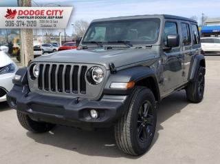New 2019 Jeep Wrangler Unlimited Sport | 4x4 for sale in Saskatoon, SK