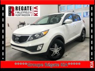 Used 2012 Kia Sportage LX**Régulateur de vitesse*Sièges chauffants*mag* Télédéverrouillage*Commandes audio au volant*Bluetooth* for sale in Salaberry-de-Valleyfield, QC