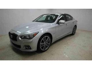 Used 2016 Infiniti Q50 Hybrid for sale in Quebec, QC