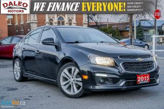 Used 2015 Chevrolet Cruze 2LT | BACK UP CAM | HEATED SEATS | LEATHER | for sale in Hamilton, ON