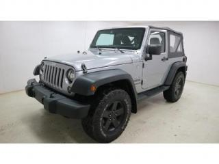 Used 2014 Jeep Wrangler SPORT for sale in Quebec, QC