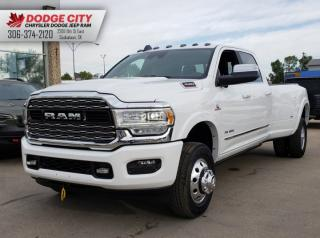 New 2019 RAM 3500 Limited | 4x4 | Crew Cab | 8ft Box for sale in Saskatoon, SK