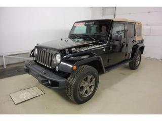 Used 2018 Jeep Wrangler Unlimited Sahara for sale in Quebec, QC