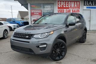 Used 2016 Land Rover Discovery Sport HSE LUXURY Acident Free, One Owner for sale in Mississauga, ON
