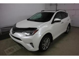 Used 2017 Toyota RAV4 LIMITED  for sale in Quebec, QC