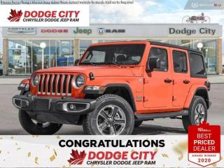 New 2020 Jeep Wrangler Unlimited Sahara North Edition | 4x4 for sale in Saskatoon, SK