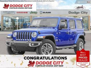 New 2020 Jeep Wrangler Unlimited Sahara | 4x4 for sale in Saskatoon, SK