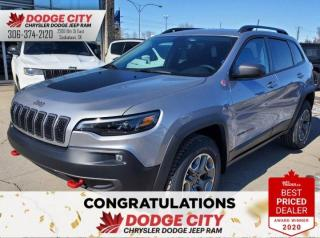 New 2020 Jeep Cherokee Trailhawk | 4x4 for sale in Saskatoon, SK