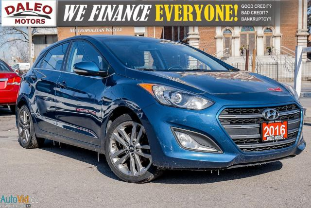 2016 Hyundai Elantra GT Limited / HEATED SEATS / LEATHER / BACK UP CAMERA
