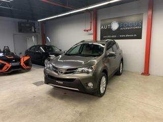 Used 2013 Toyota RAV4 LIMITED AWD AUTO,GPS,CAMÉRA,CUIR,TOIT OU for sale in Montréal, QC