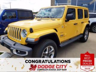 New 2020 Jeep Wrangler Unlimited Sahara | 4x4 for sale in Saskatoon, SK