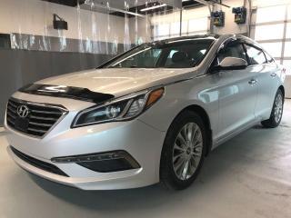 Used 2015 Hyundai Sonata LIMITED**GPS** À PARTIR DE 0.9% FINANCEMENT for sale in Val-d'Or, QC