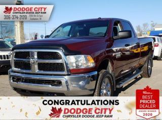 Used 2016 RAM 2500 SXT | Btooth, SXM, A/C for sale in Saskatoon, SK
