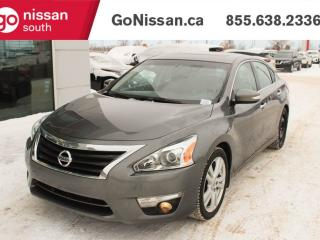 Used 2015 Nissan Altima HEATED LEATHER SEATS NAVIGATION BLUETOOTH for sale in Edmonton, AB