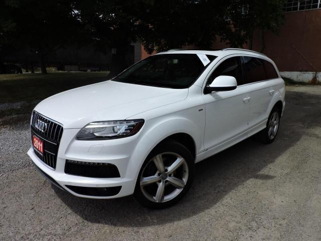 2011 Audi Q7 TDI PremiumPkg/SLine/PanoRoof/RevCamera/CooledSeat