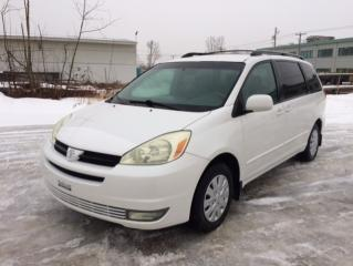 Used 2004 Toyota Sienna 4 portes CE 7 passagers for sale in Quebec, QC