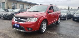 Used 2012 Dodge Journey R/T | NAVIGATION | ALL WHEEL DRIVE ACCIDENT FREE for sale in Brampton, ON