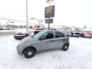Used 2017 Nissan Micra for sale in Rimouski, QC
