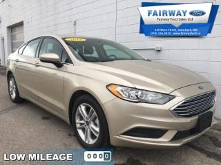 Used 2018 Ford Fusion SE FWD  - Bluetooth -  SiriusXM for sale in Steinbach, MB