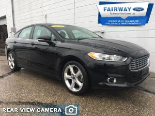 Used 2016 Ford Fusion SE FWD  - Bluetooth -  SiriusXM for sale in Steinbach, MB