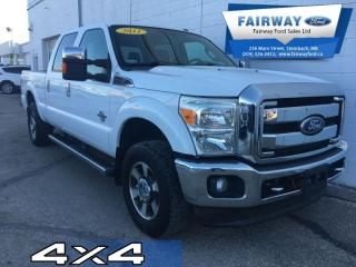 Used 2011 Ford F-250 Super Duty S/D Lariat Crew Cab 4WD for sale in Steinbach, MB