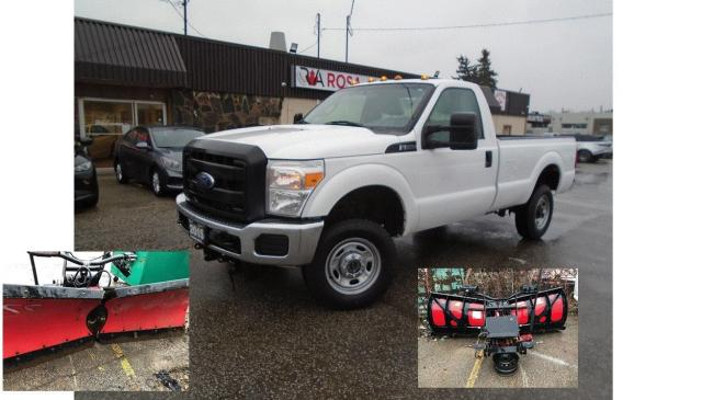 2015 Ford F-250 SNOW PLOW SAFETY BOSS 9.2 FT V NEW BRAKES+ TIRES
