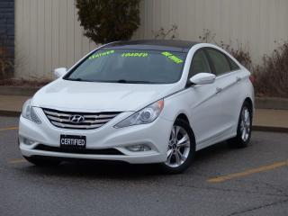 Used 2012 Hyundai Sonata LEATHER,PANORAMIC SUNROOF,LIMITED,NO-ACCIDENTS,NEW for sale in Mississauga, ON
