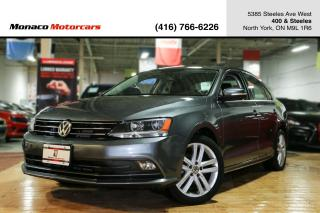 Used 2016 Volkswagen Jetta HIGHLINE 1.8 - LEATHER|BACKUP|SUNROOF|BLINDSPOT for sale in North York, ON