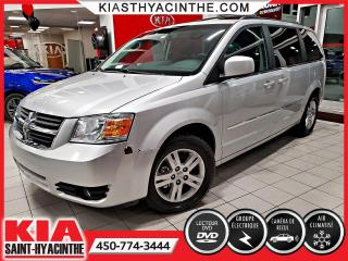 Used 2010 Dodge Grand Caravan SXT 4.0L ** CAMÉRA DE RECUL / DVD for sale in St-Hyacinthe, QC