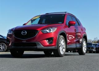 Used 2014 Mazda CX-5 GT GROUPE TECH AWD CUIR/TOIT for sale in St-Georges, QC