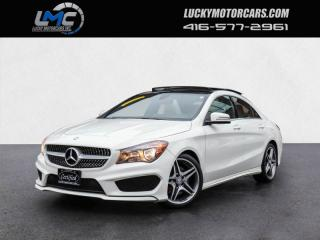 Used 2016 Mercedes-Benz CLA250 4MATIC AMG SPORT PKG-PANOROOF-BACKUPCAM-40KMS for sale in Toronto, ON