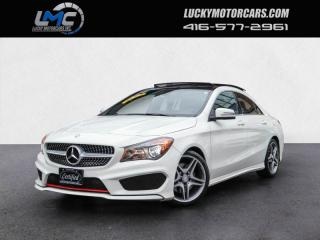 Used 2016 Mercedes-Benz CLA250 4MATIC AMG SPORT PKG-PANOROOF-BACKUPCAM-50KMS for sale in Toronto, ON